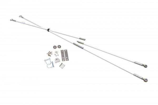 SkiPulk Split Pole Set