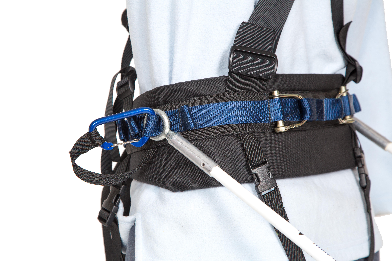 Full Harness Ski Tow Pole Attachment