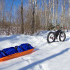 SkiPulk.com FatBike Pulk for Winter Camping or Bikepacking