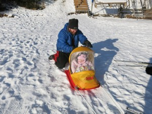 Pelican Baby Sled Deluxe for Kids