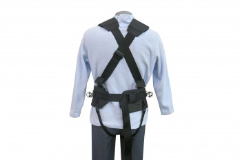 Back view of the Expedition Harness