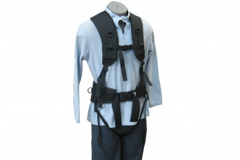 Front view of the Expedition Rope Pulling Harness from SkiPulk.com
