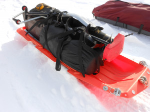 Paris Pulk Ice Fishing Sled