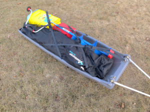Snowclipper Pulk Ice Fishing Sled