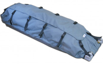 The Clipper XL Pulk shown with the covers installed